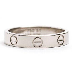 Authentic Polished CARTIER Mini Love Ring
